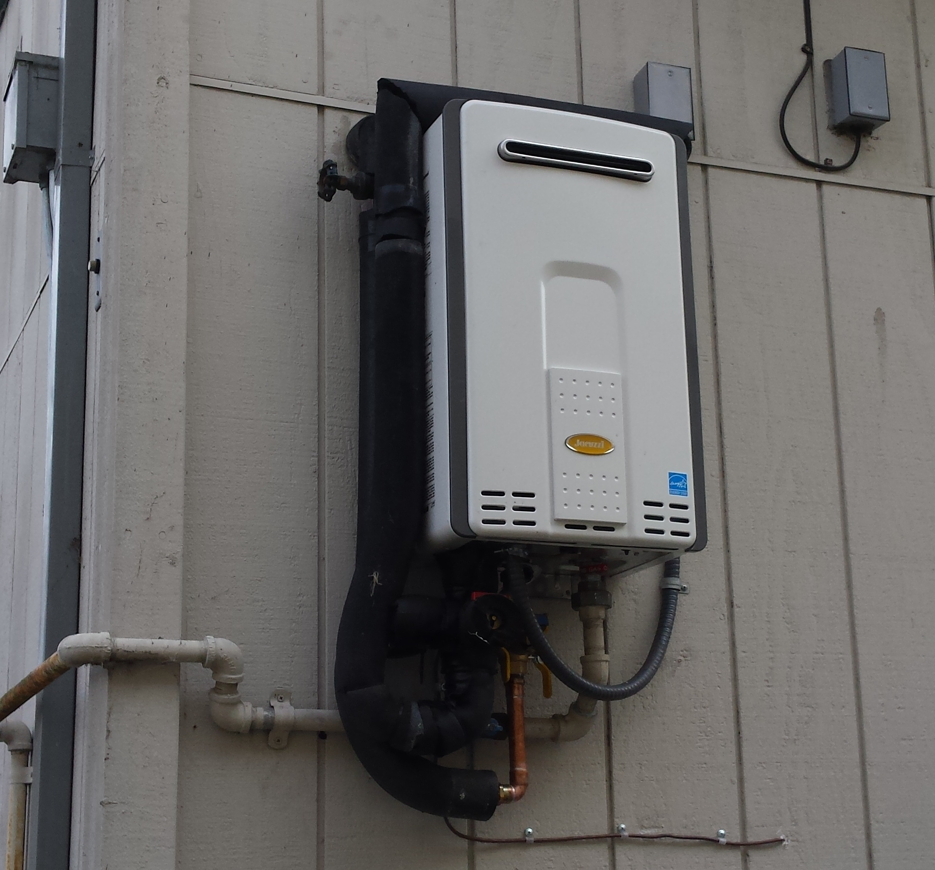 Outdoor Tankless Water Heater Enclosure Mycoffeepot Org